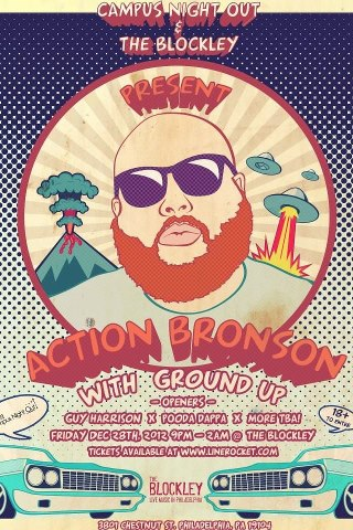 ACTION BRONSON AT THE BLOCKLEY