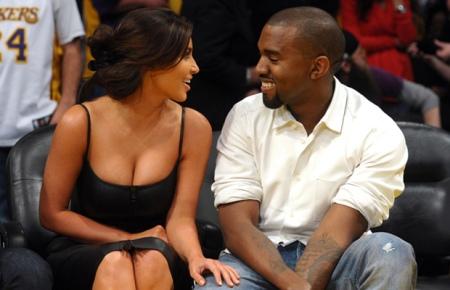 Kanye West & Kim Kardaschian