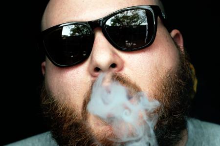 Action Bronson smoking