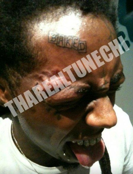 Lil Wayne new face tattoo