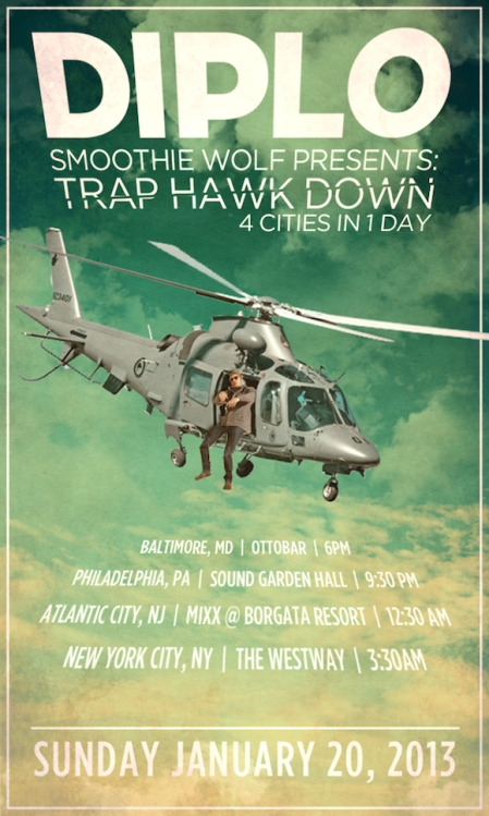 Diplo - Trap Hawk Down