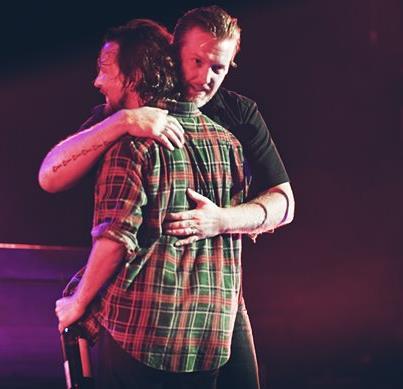 Josh Homme & Eddie Vedder