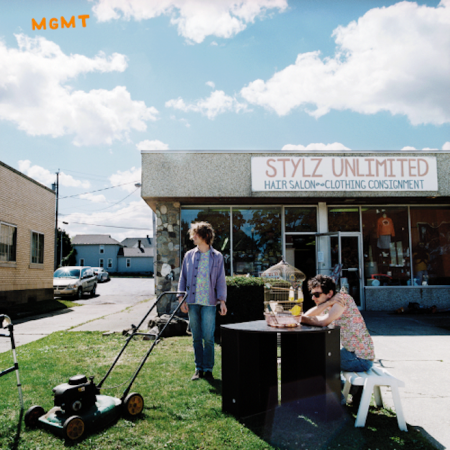 MGMT self-titled album cover