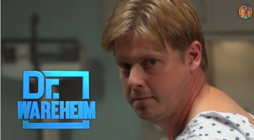 Dr. Wareheim logo - Tim Heidecker